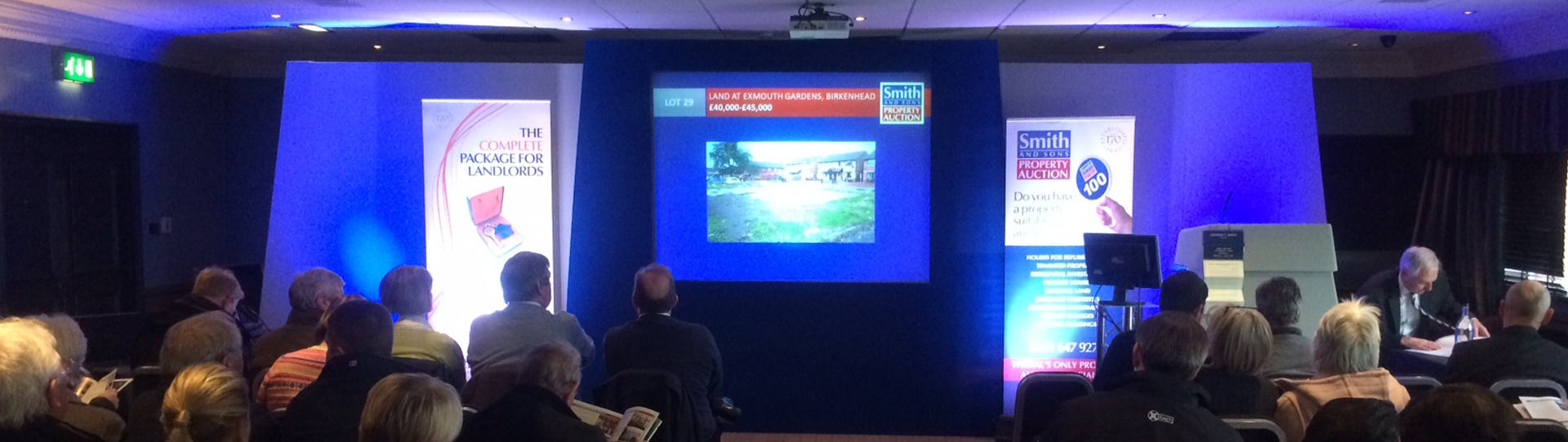 Conference Setup in Wirral, Merseyside